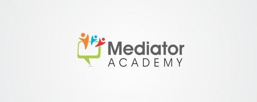 mediator logo design case study