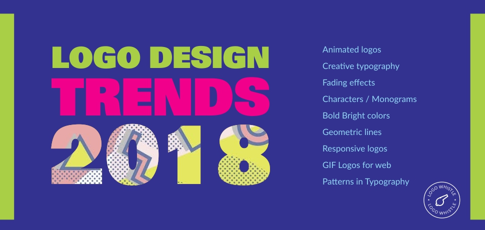 logo design trends 2018 - Logo Design Idea