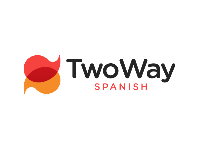 TWO WAY SPANISH logo design ideas