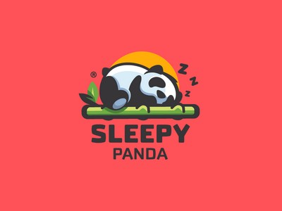 logo design trend sleepy
