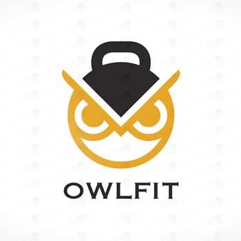 fitness-logo-design-owlfit