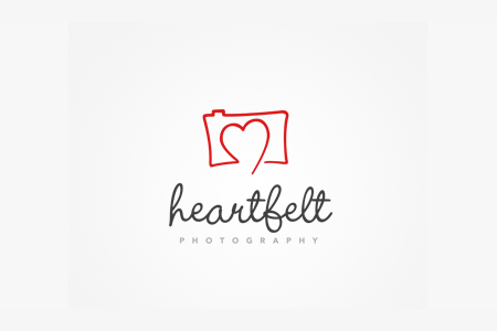 photography-logo-design-ideas-heart-felt