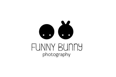 photography-logo-design-funny-bunny