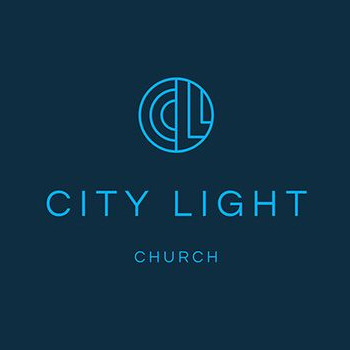 Church Logo Design city light