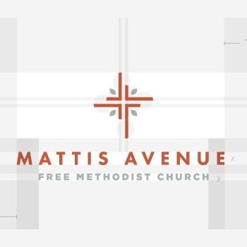 Mattis Church Logo Design