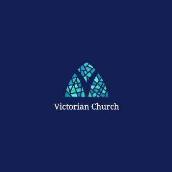 Victorian Church Logo Design