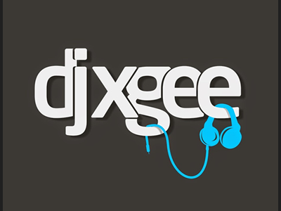 DJ xgee logo design ideas