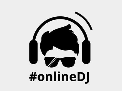 online DJ logo design inspirations