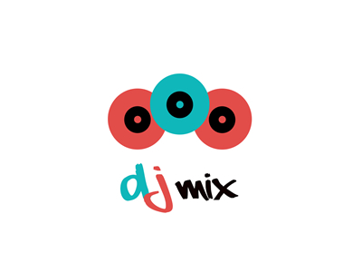 DJ mix logo design ideas