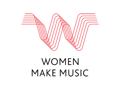 Women music logo designs inspirations