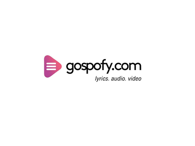 Gospofy music logo design ideas