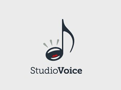 Studio voice music logo design ideas