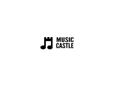 Music castle logo design inspirations