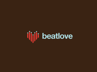 Beatlove music logo design inspirations