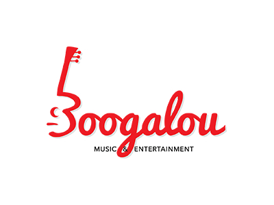 Boogalou music logo design Uk