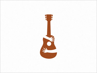 Gitar music logo design Uk