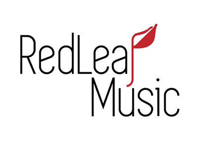 Redleaf music logo design ideas