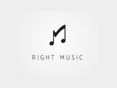 Right Music logo design inspirations UK