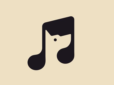 Custom Music logo design inspirations