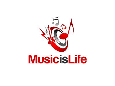 Life Music logo design ideas