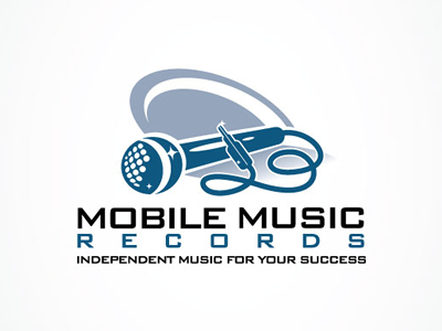Mobile Music logo design ideas