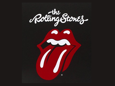 Rolling stone band logo design
