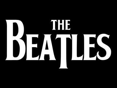 Beatles band logo design