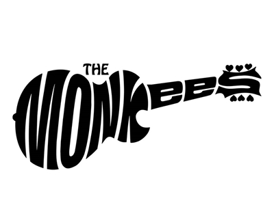 Monkees band logo design