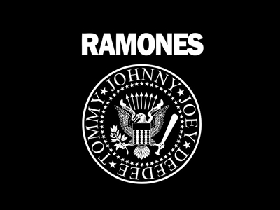 Ramones band logo design