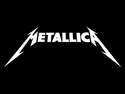 Metallica band logo design