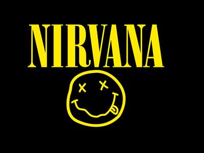 Nirvana band logo design