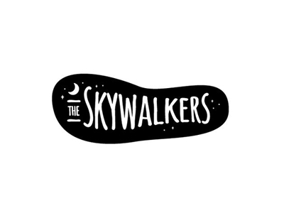 Skywalkers band logo design