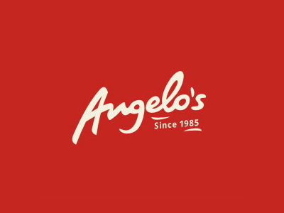 Angelo's naming logo design