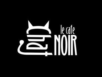 Chaj Noir font logo design