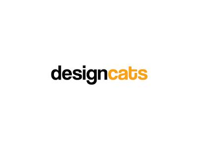 Design cats font logo design