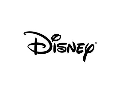 Disney text logo design