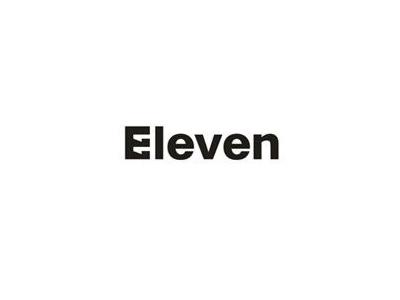 Eleven naming font logo