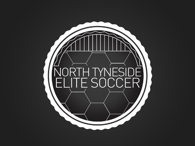 Elite football logo design