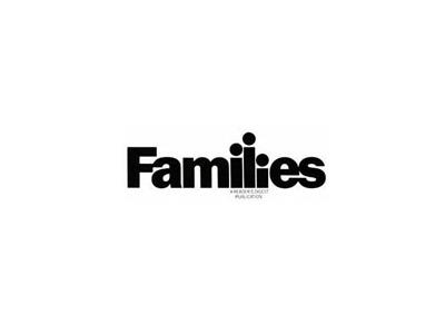 Families text logo designs