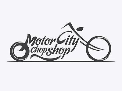 Motorcity font logo design