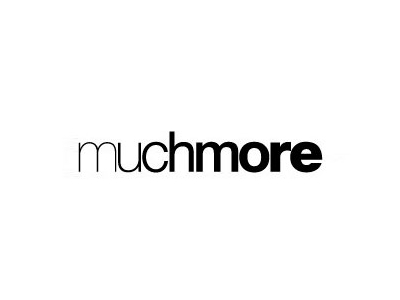 Muchmore text logo desing