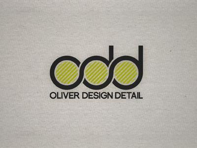 Odd font logo design