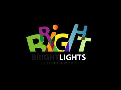 Right light font logo