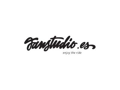 Janstudio font logo design