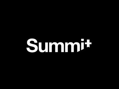 Summit font logo design