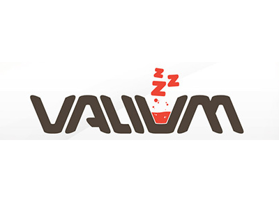 Valivaa text logo design