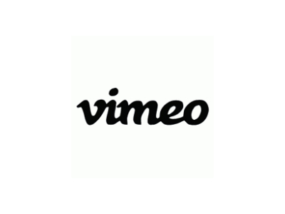 Vimeo font logo design