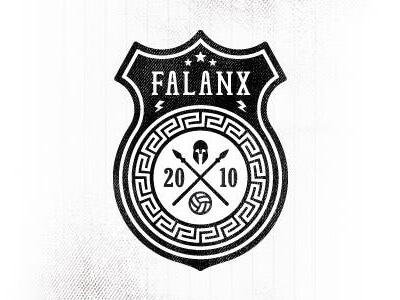 Falanx football club logo design