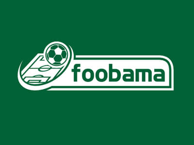 Foobama football logo design