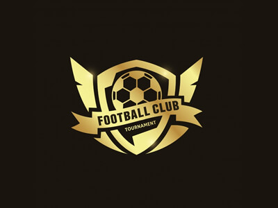 Football tournament logo design